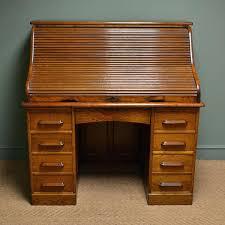 roll top oak desk large oak antique roll top desk used oak roll