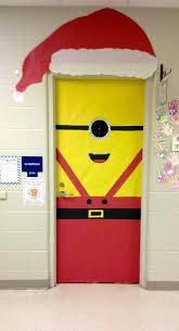 one in a minion christmas my christmas classroom door