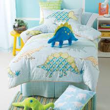 Dinosaur Bedroom Ideas Hiccups Retro Dino Blue Geometric Dinosaur Boys Duvet Quilt Cover