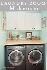 Cheap Laundry Room Cabinets Laundry Room Cabinet Makeover