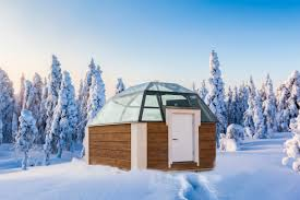 glass igloos in rovaniemi lapland the magazine