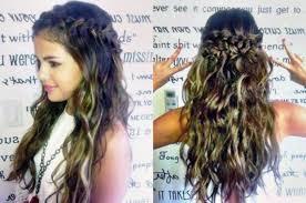 simple cute braided hairstyles