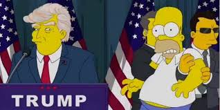 Presidential Election 2016 Predictions Youtube by The Simpsons U0027 Predicted Trump U0027s Presidency 16 Years Ago But It