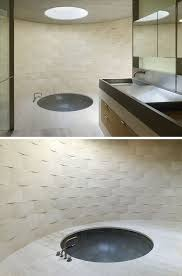 bathroom interior with modern fixtures and contemporary design