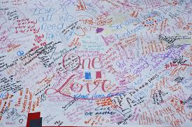 Washington Square Map memorials for paris following night of violence the boston globe