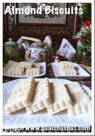 cuisine proven軋le photos almond biscuits 杏仁酥饼 guaishushu kenneth goh