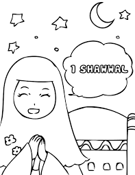 arab holidays coloring pages handipoints