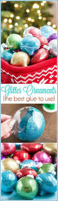 easy 6 step pledge glitter ornaments ornament