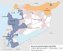 Aleppo Syria Map by Defeat Of Aleppo Rebels Will Boost Syrian Al Qaida Oxford