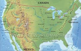 United States Map With States And Capitals Labeled by Great Lakes States Wall Map Mapscom United Physical Map Us Within
