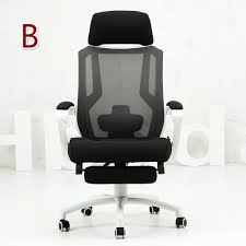adjustable backrest ergonomic executive office chair reclining