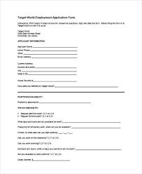 target black friday pdf 49 job application form templates free u0026 premium templates