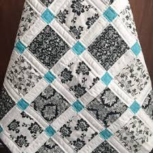 wedding gift quilt wedding quilt patchwork monogram name quilt custom made