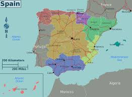 Spain Map World by Spain Region Map Spain Administrative Map
