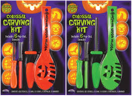 Pumpkin Carving Kits Colossal Carving Kit 10 Piece Halloween