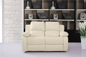 Next Leather Sofas by Vancouver 3 2 Bonded Leather Recliner Sofa Suite Cream