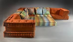 6 pc roche bobois hans hopfner mah jong sofa