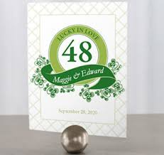 Table Numbers Wedding Table Numbers Personalized Table Numbers