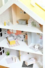 Modern Dollhouse Furniture Diy Diy Modern Dollhouse The Pretty Life Girls Give Your Playroom A