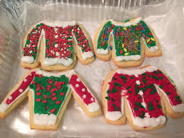 christmas sweater cookies sublime chocolates