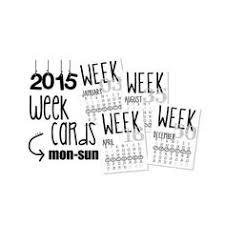 2015 printable 3 x 4 month calendar cards by digitaldesignsbye