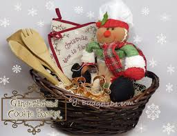 gingerbread cookie gift basket themed gift basket ideas