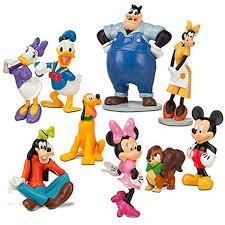 amazon com disney mickey mouse clubhouse figurine deluxe figure
