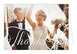 wedding photo thank you cards wedding day bliss thank you card folded dear addie stationery