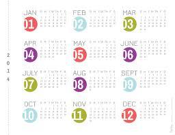 2016 rs dots calendar