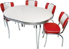 stainless steel table and chairs interior beauteous picture of retro dining room decoration using