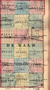 Illinois Map by De Kalb County Illinois Maps And Gazetteers
