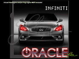 halo rings red images Oracle 11 15 infiniti g37 q60 2dr led halo rings headlights bulbs