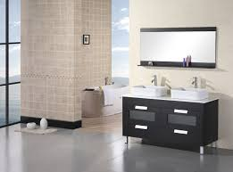 bathroom double sink vanity application for spacious bathroom