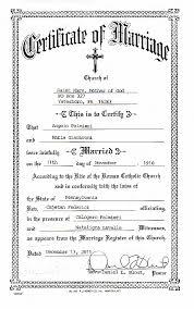 catholic marriage certificate certificate template catholic baptism certificate template