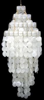 White Shell Chandelier White Capiz Shell Chandelier Jpg 245 550 Huur De Oesterkoning In