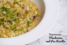 cuisine thermomix meatless monday thermomix and pea risotto