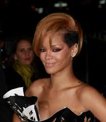 celebrity short hairstyles rihanna hairtechkearney