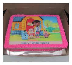doc mcstuffins edible image doc mcstuffins a4 picture cake rumble grumble