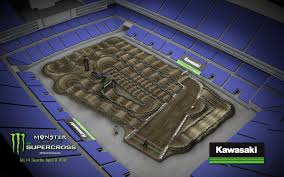 Metlife Stadium Map 2017 Monster Energy Supercross Track Layouts Transworld Motocross
