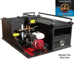cet skeeter pac skid unit