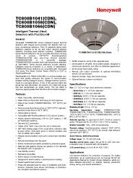 flashscan heat detectors light emitting diode relay