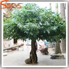 large outdoor artificial trees make artificial big trees view