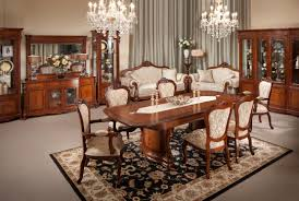 awesome modern elegant home dining room furniture sets with brown