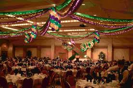 mardi gras table decorations corporate events grand illusions