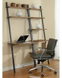Walnut Ladder Bookcase Fall Savings On Parson Ladder Desk U0026amp Bookcase Steel Frame
