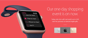 iwatch black friday apple offers gift cards for black friday but no discounts on any