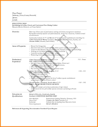 Cv Template South Africa Resumes 15 Pastry Chef Resume Template Address Example