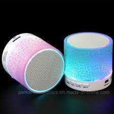 led light bluetooth speaker china mini portable wireless led light bluetooth speaker 572