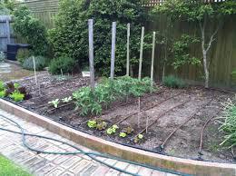 watering vegetable gardens