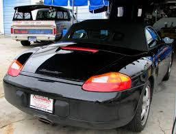 Porsche Boxster Black - porsche tops and seats recovered by mrstitch